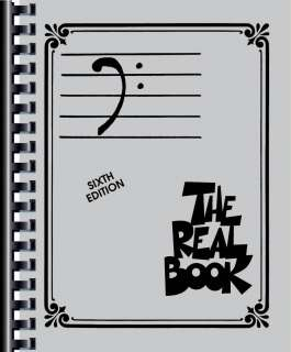 THE REAL BOOK Vol. 1 BASS CLEF Edition Fake Book JAZZ |