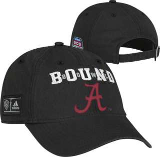 Crimson Tide 2011 BCS National Championship Game Bound Adjustable Hat