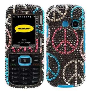 LG Rumor 2 LX265/Cosmos VN250 Peace bling case