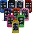 Products (yellow/blue) CandyShell Glossy Case Cover Apple iPhone 4/4S