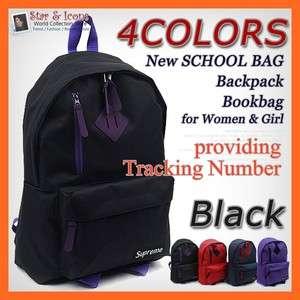 New SCHOOL Bag Black Backpack Bookbag for Women & Girl