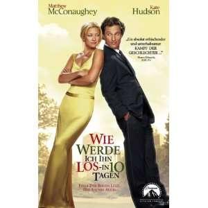 ihn los   in 10 Tagen? [VHS] Kate Hudson, Matthew McConaughey, Adam