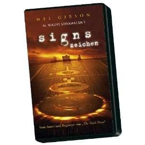 Signs   Zeichen [VHS] Mel GibsonJoaquin Phoenix, M. Night Shyamalan