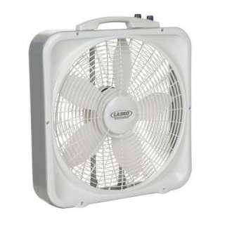 LaskoWeather Shield 20 in. 3 Speed Box Fan