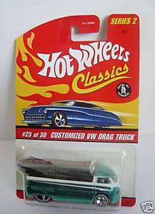 CUSTOMIZED VW DRAG TRUCK~Hot Wheels Classics S2~MOMC