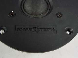 PHASE TECHNOLOGY HIGH POWER HOME AUDIO 1.25 TWEETER