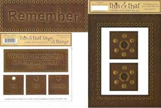 FRAME & TITLE PAGE KIT MME This & That VARIETY Choice