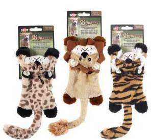 SKINEEZ SKINNEEEZ FLAT CATS DOG TOY 12 NO STUFFING