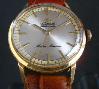 JAEGER LECOULTRE MASTER MARINER AUTOMATIC BUMPER SWISS WATCH