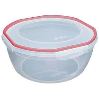 Sterilite Ultra Seal 8.1 quart Bowl Food Storage Container (4 Pack
