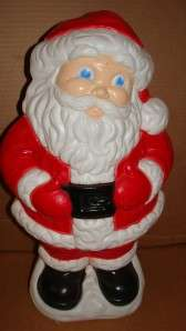 Santa Claus Blow Mold By Grand Venture Plastic Lighted