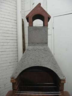 BARBECUE FIRE PLACE FIRE PIT LAVA ASH CEMENT
