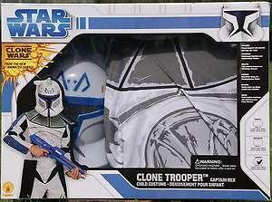 Star Wars Clone Trooper Captain Rex Kostüm Kinder Kinderkostüm