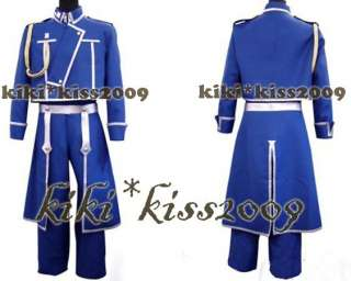 Full Metal Alchemist Cosplay Costom Custom made Uniform