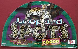 Leopard spots casino slot machine