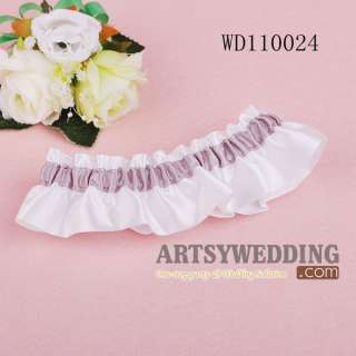 New Satin Wedding Bridal Garter 9 Styles U PICK