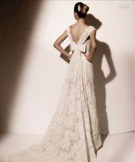 Strapless Lace Wedding Dress Bridal Gown Size Custom Made Cheap New
