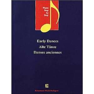 Early Dances: Alte Tanze (Music Scores): .de: Koneman Music