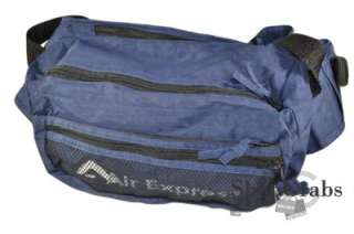New XL Navy Blue Military Fanny Pack Shoulder Bag Pack Concealed Carry