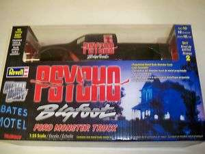 REVELL 1559 PSYCHO BIGFOOT FORD MONSTER TRUCK MODEL KIT