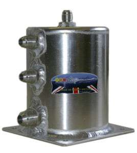Fuel / Benzin Catch Tank, Rallye, Racing