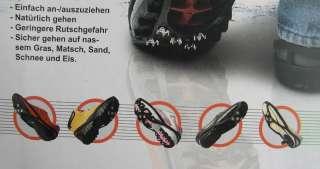 Antirutsch Schuhe Spikes Schuhketten Spike Gleitschutz