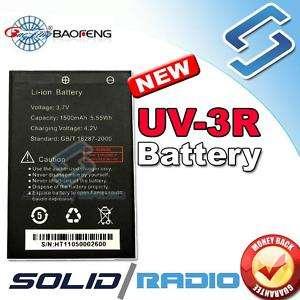 BaoFeng Original Li ion Battery UV 3R dual band radio