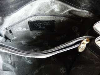THIS IS A BEAUTIFUL VALENTINA ITALY CROSS BODY BLACK LEATHER BAG