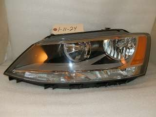 2011 2012 VW VOLKSWAGEN JETTA MKVI MK6 FACTORY OEM LH DRIVER HEADLIGHT