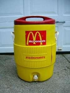 Vtg. McDONALDS IGLOO~10 Gallon~ICE CHEST/COOLER DRINK DISPENSER*No