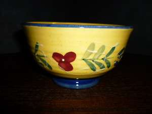 Baum Bros Style Eyes Blue Floral Collection Cereal Bowl