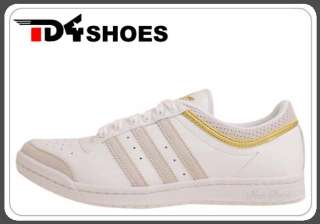 Adidas Top Ten Low Sleek W 1 White Gold Original New Womens Casual