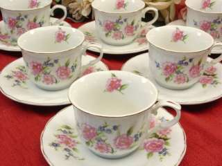 Fiona Sale Price Teacups, Inexpensive But Not Cheap Looking Set of Six