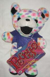 GRATEFUL DEAD DANCING BEAR 7 PLUSH PEGGY O STEVE SMITH