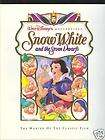 DISNEYS SNOW WHITE THE MAKING OF THE CLASSIC FILM 50TH