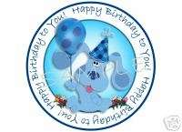 Edible Cake Image BLUEs Clues HAPPY Birthday! Circle