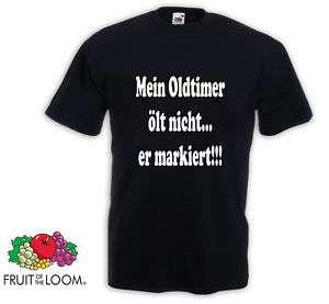 mein Oldtimer  T Shirt VW Opel Ford BMW Mercedes