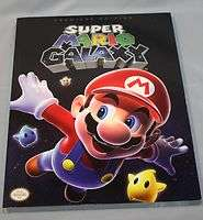 Nintendo Wii SUPER MARIO GALAXY PREMIERE EDITION Strategy Guide