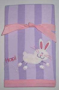 Stephen Joseph Bunny Rabbit Baby Burp Cloth 14x21 NEW