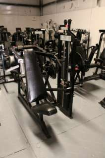 Body Masters shoulder press w/ 250lb weight stack