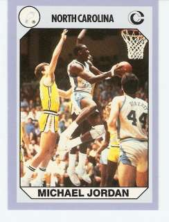 1990 Michael Jordan North Carolina Tar Heels card #3