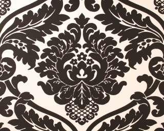 Barock Retro Tapete schwarz und weiß 5292 82 Ornamente