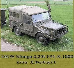 DKW Munga im Detail  49 Fotos