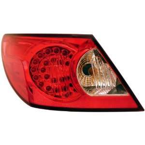 Anzo USA 321179 Chrysler Sebring LED Red/Clear Tail Light Assembly
