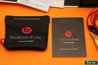 Ibeats Beats   Dr. Dre Monster  Ipod Headphones Earbuds Control