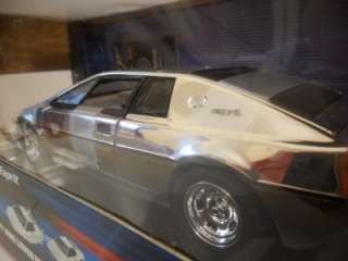 2005 ERTL Joyride James Bond Lotus Esprit 1/18 CHROME Silver RC2