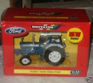 BRITAINS FORD 7600 2wd TRACTOR MB