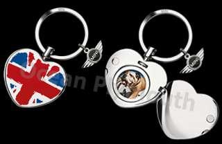 Genuine MINI Key Ring With Heart Locket