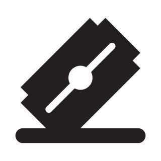 Kit 2 adesivi tuning LAMETTA blade custom decal sticker