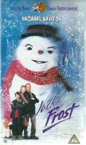 JACK FROST   MICHAEL KEATON   VHS VIDEO